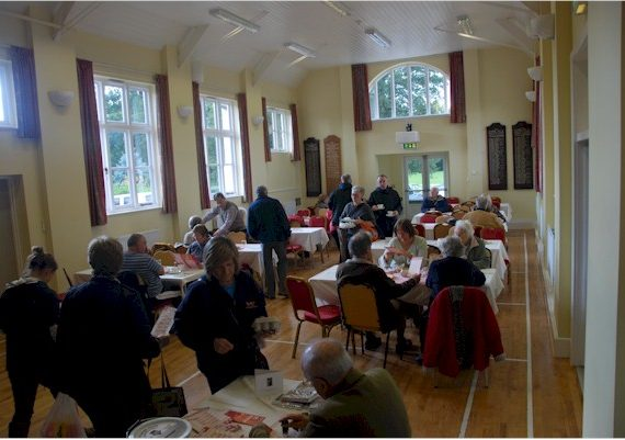 Tea in Much Marcle Memorial Hall