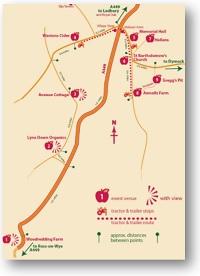 Big Apple Harvestime Location Map